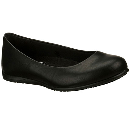 Gibson Brogna Sr Black   Skechers Non Slip Shoes