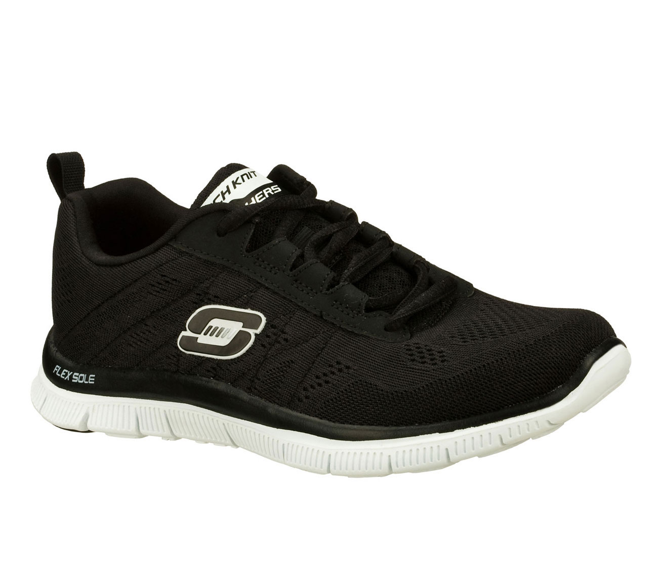 Sketcher Flex Black Shoes