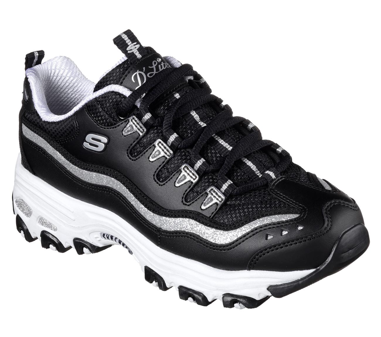 buy skechers d 39 lites now and then d 39 lites shoes only. Black Bedroom Furniture Sets. Home Design Ideas