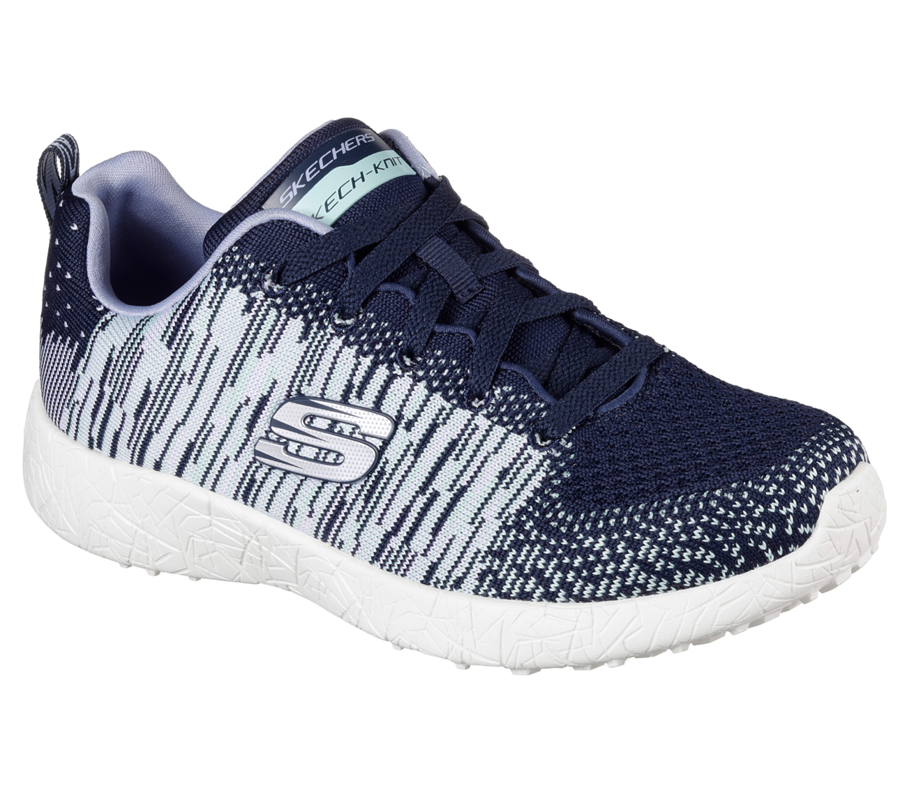 Performance Shoe That Comes In Blue And White