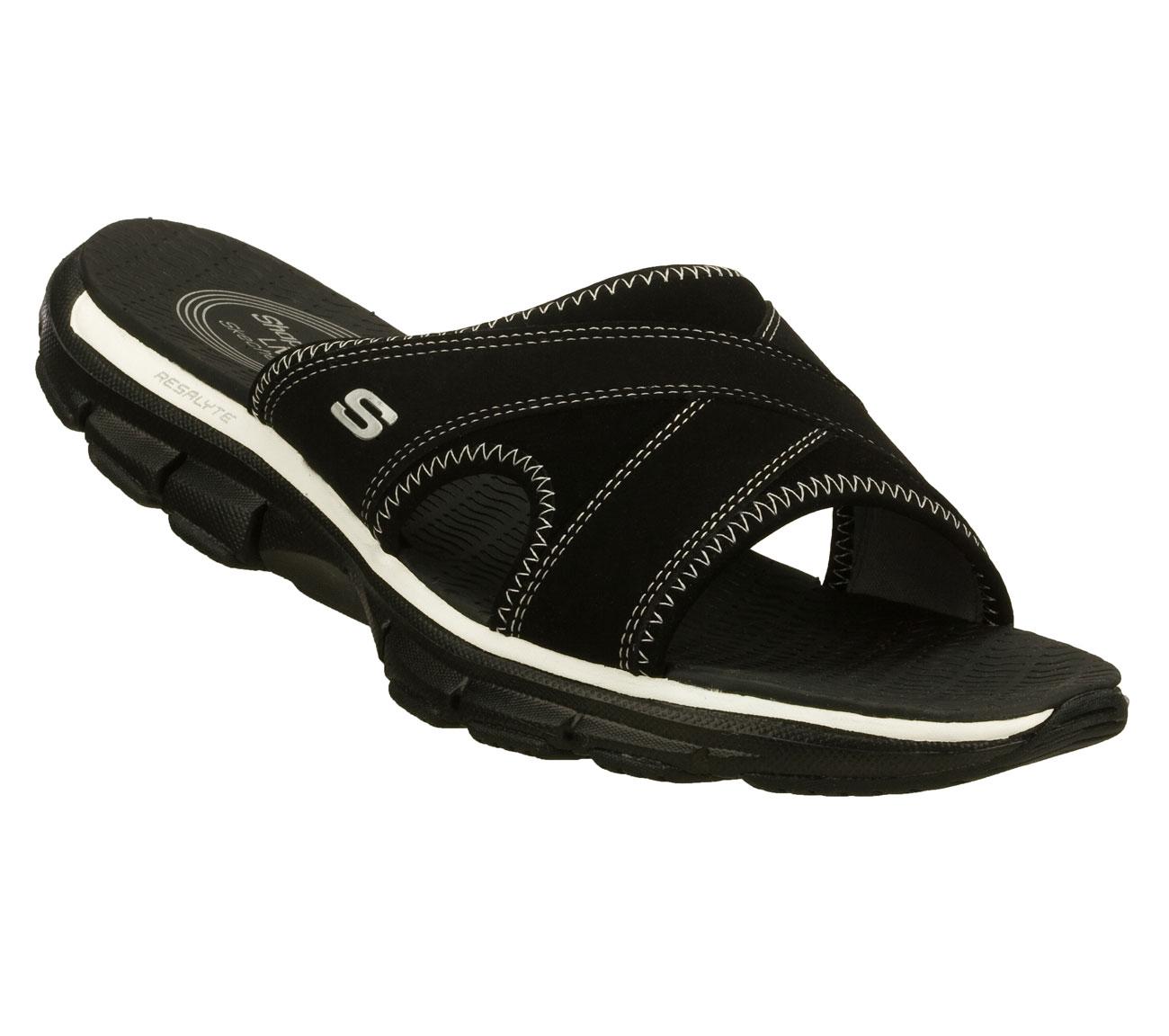 buy skechers shape ups liv beachycomfort sandals shoes. Black Bedroom Furniture Sets. Home Design Ideas