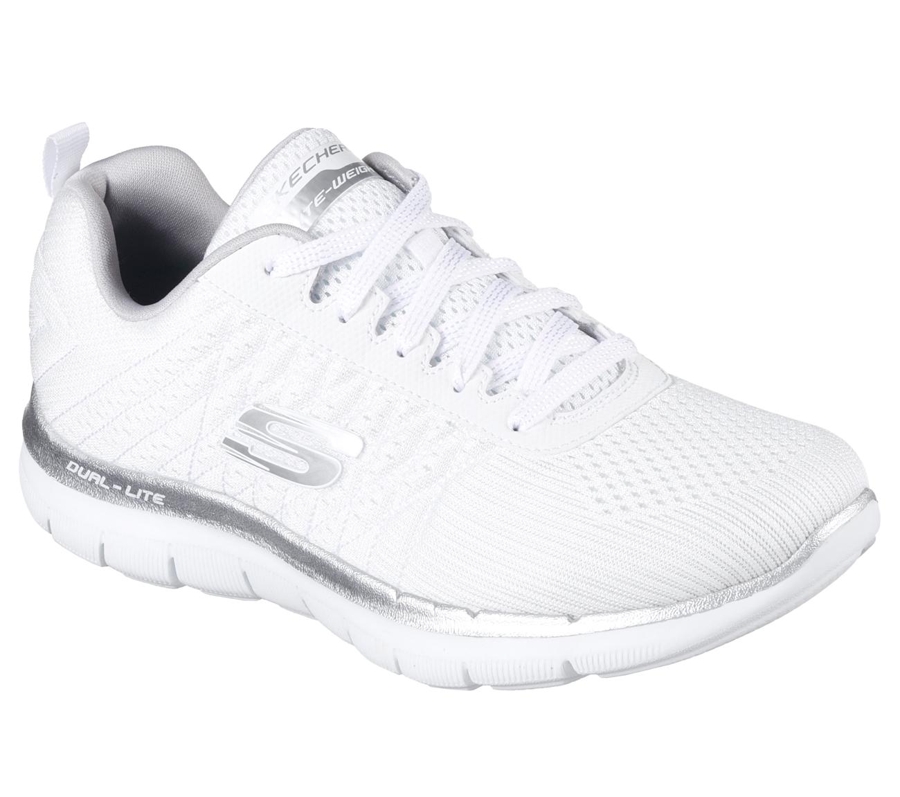 Zapatillas Skechers Mujer Blancas