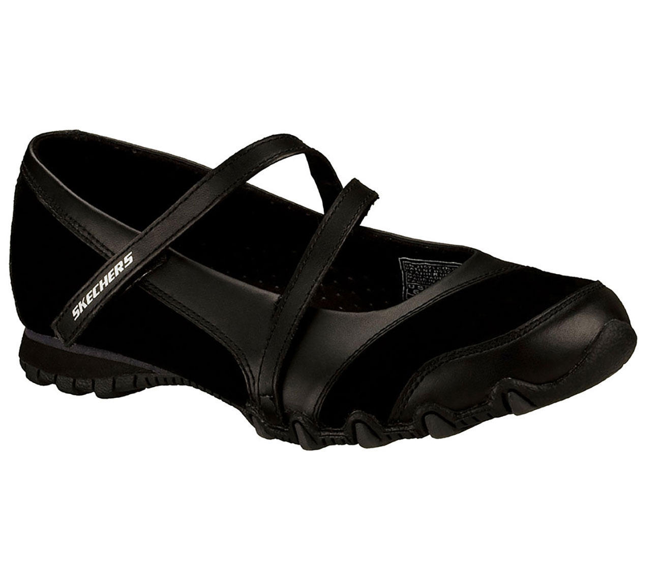 Skechers Leather Mary Jane Casual Shoes