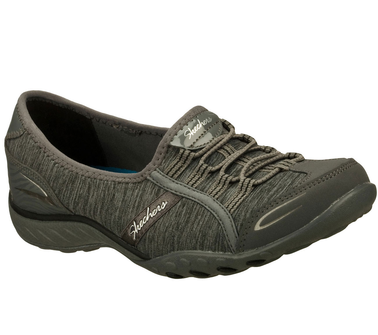 Skechers Womens Relaxed Fit Breathe Easy Good Life Memory Foam Shoe   Car Interior Design