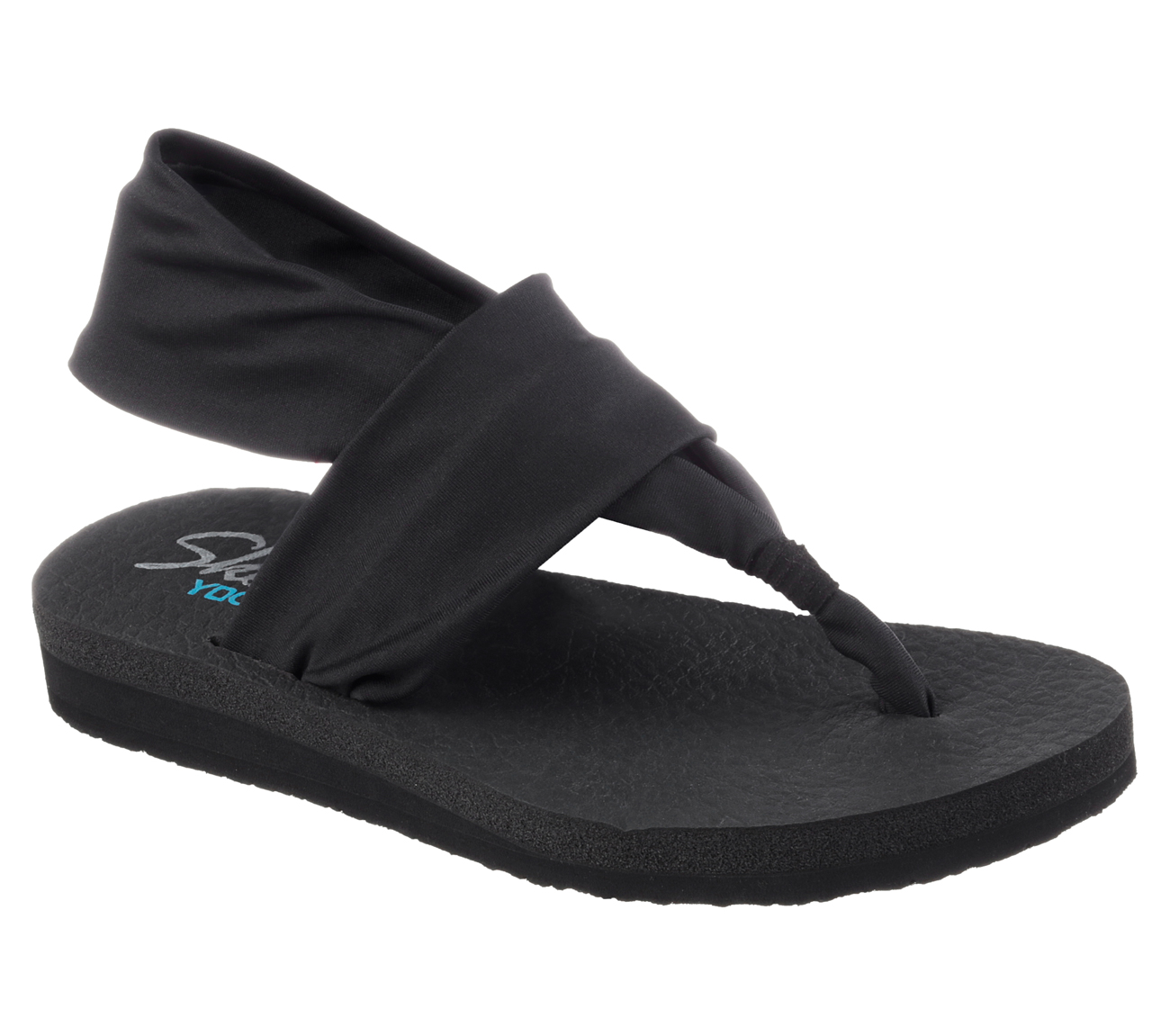 Yoga Shoes Skechers: Buy SKECHERS MeditationStrappy Sandals Shoes Only $38.00