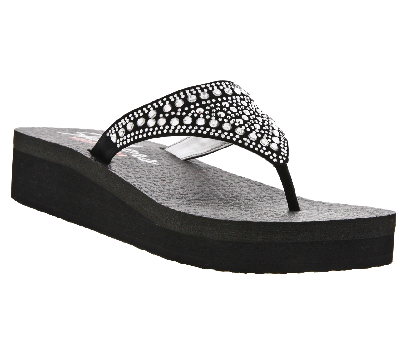 Yoga Shoes Skechers: Skechers 38494 BKSL Women's VINYASA - BINDI Sandals