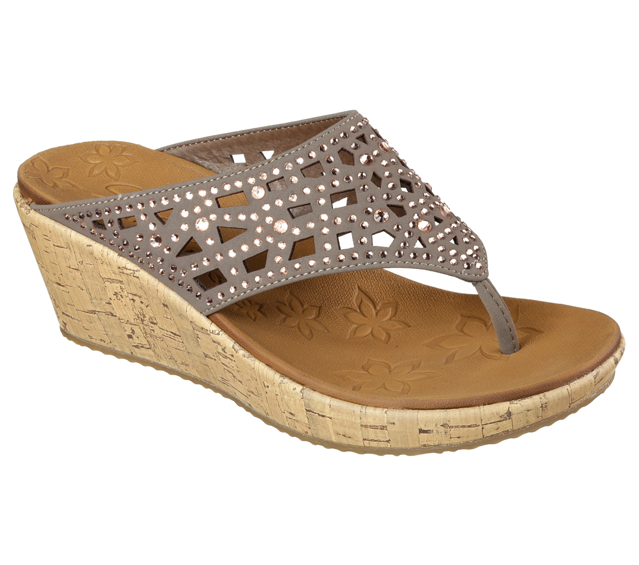Buy Skechers Beverlee Dazzled Thong Sandals Shoes Only