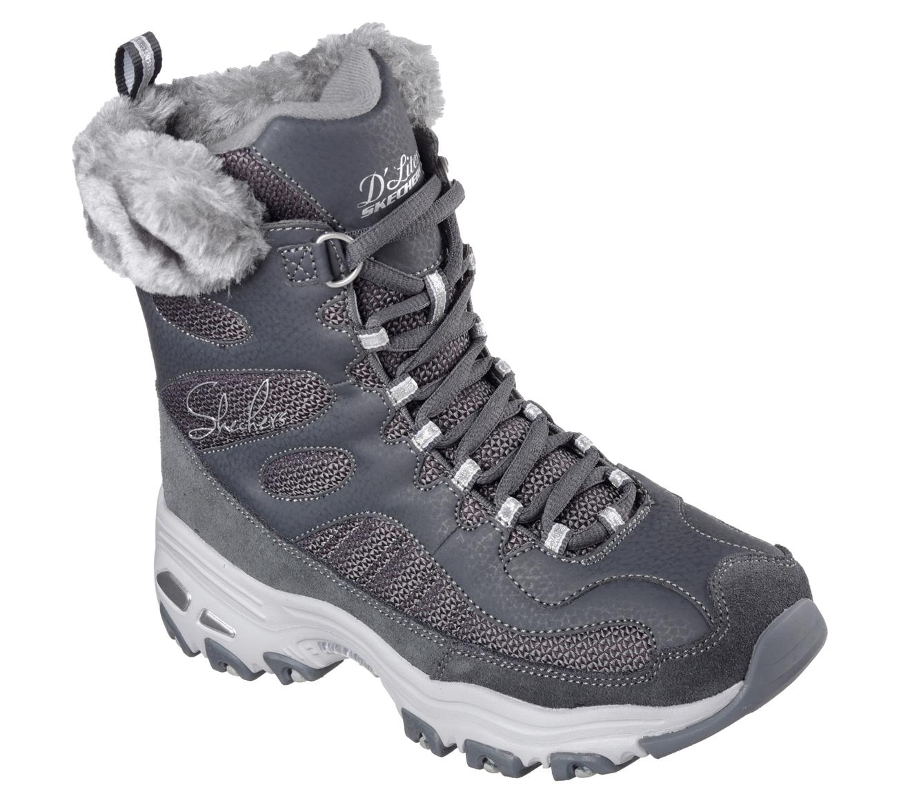 buy skechers d 39 lites chalet casual boots shoes only. Black Bedroom Furniture Sets. Home Design Ideas