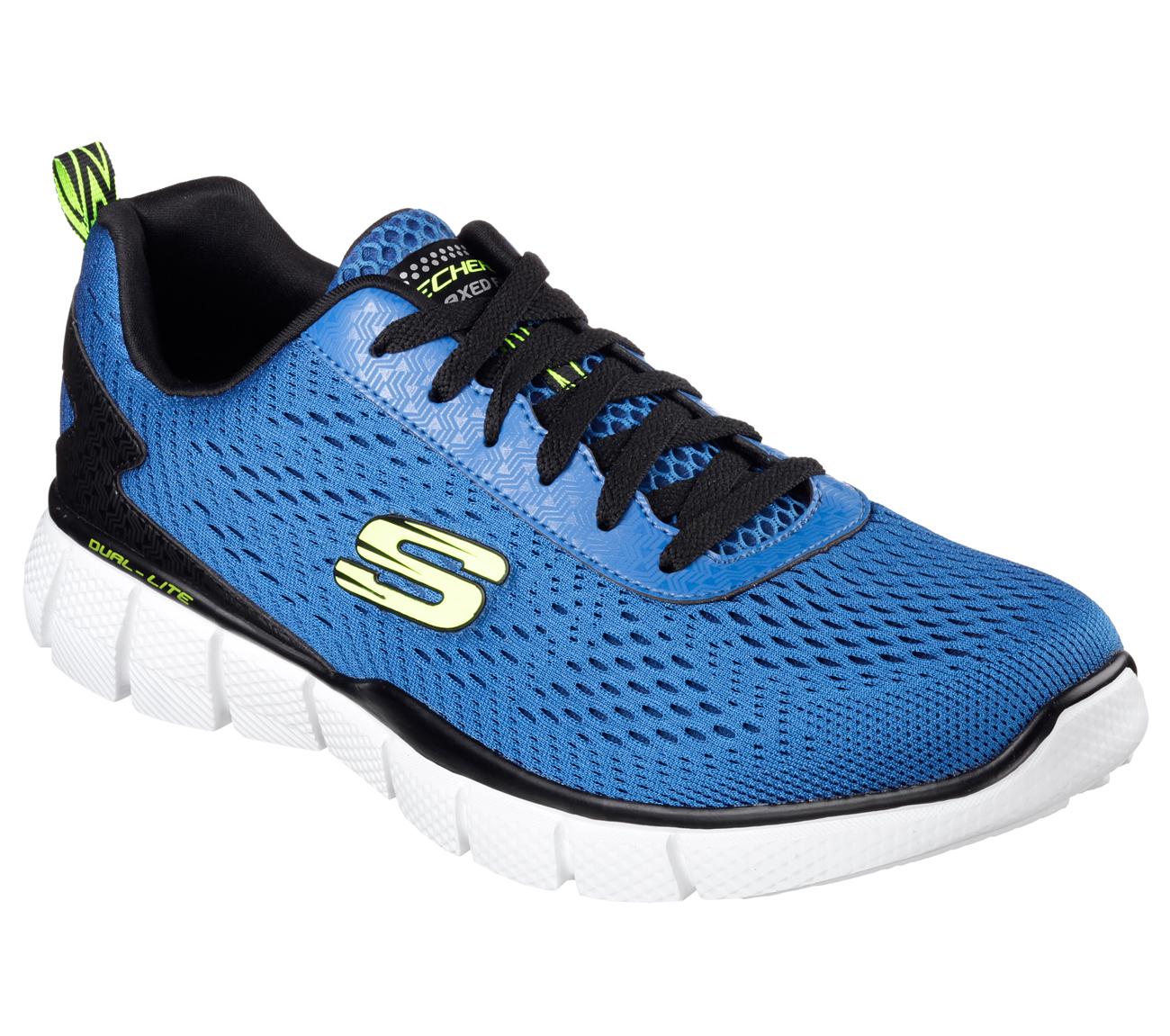 Skechers 51529 BLBK Men's EQUALIZER 2.0 Running Shoes | eBay