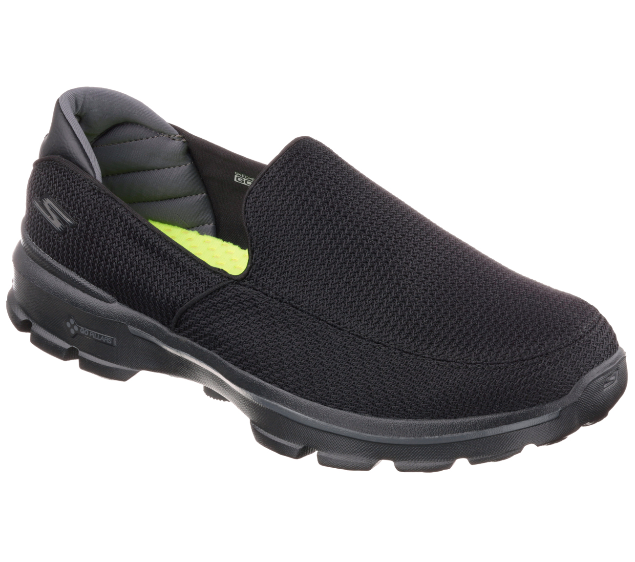 Product Features Slip-on shoe work shoe featuring mesh fabric upper and slip-resistant.