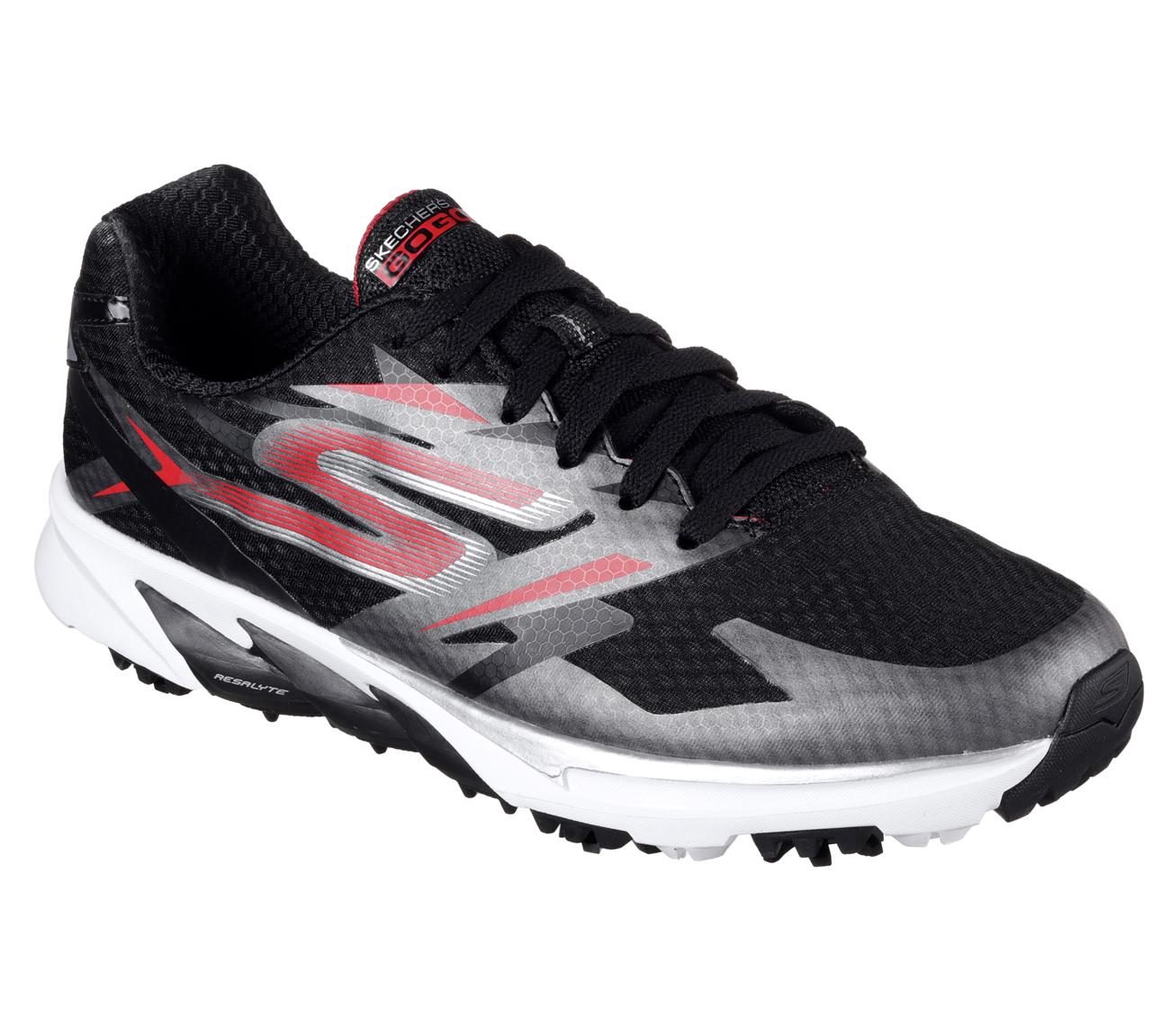 Skechers Go Golf Blade Power Golf Shoes Black Red