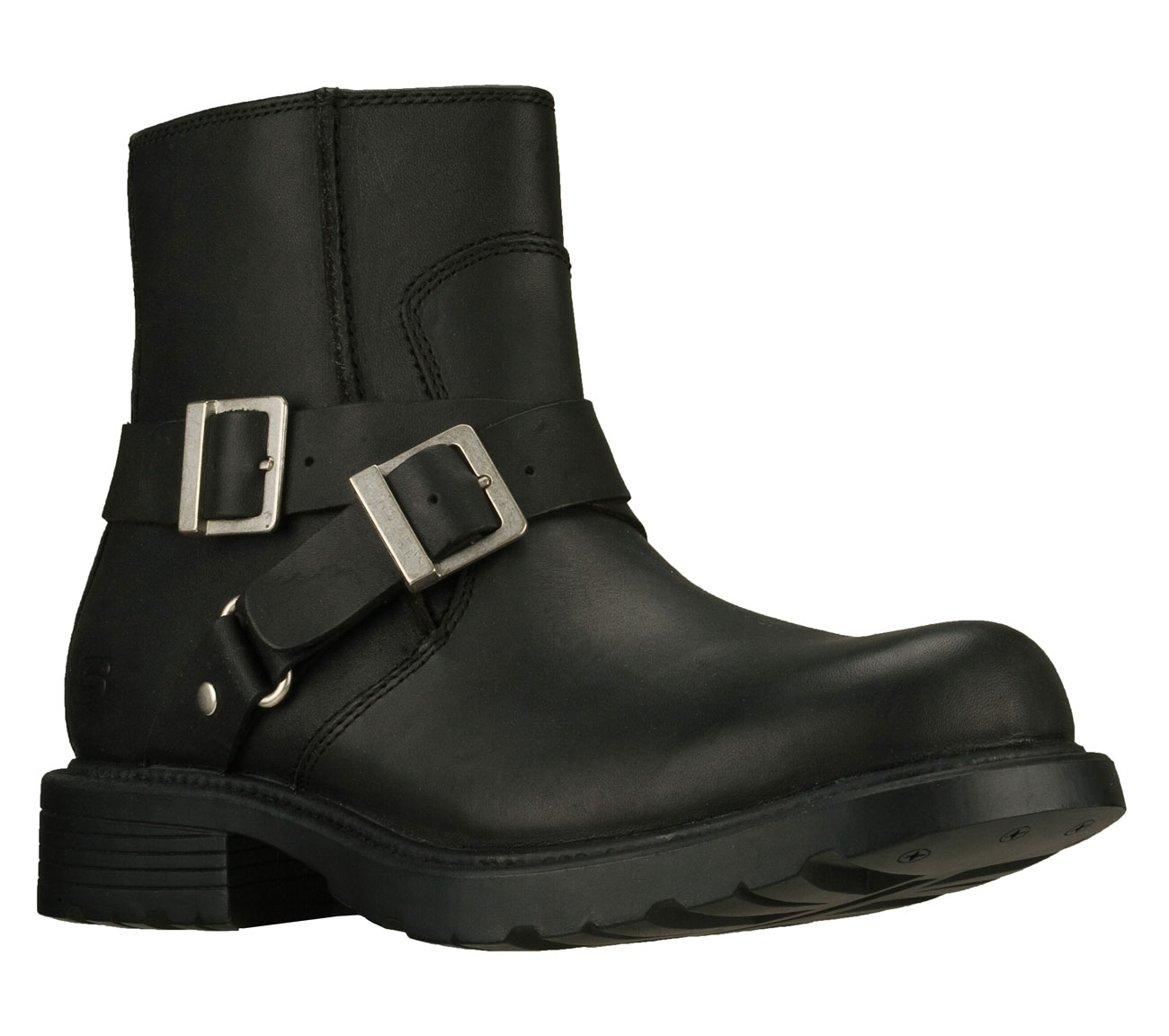 cinder twist skechers boots motorcycle shoes