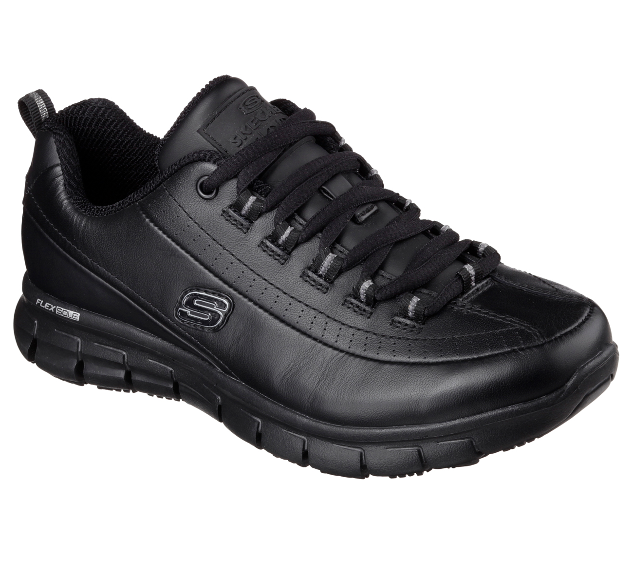 Sketcher Black Dress Shoe
