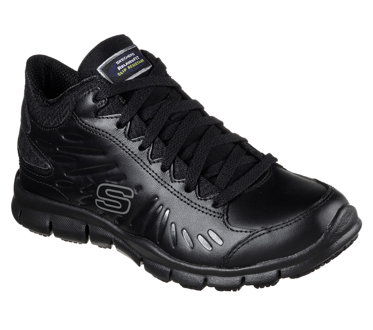 Skechers For Work Women S Eldred Linton Slip Resistant Shoe