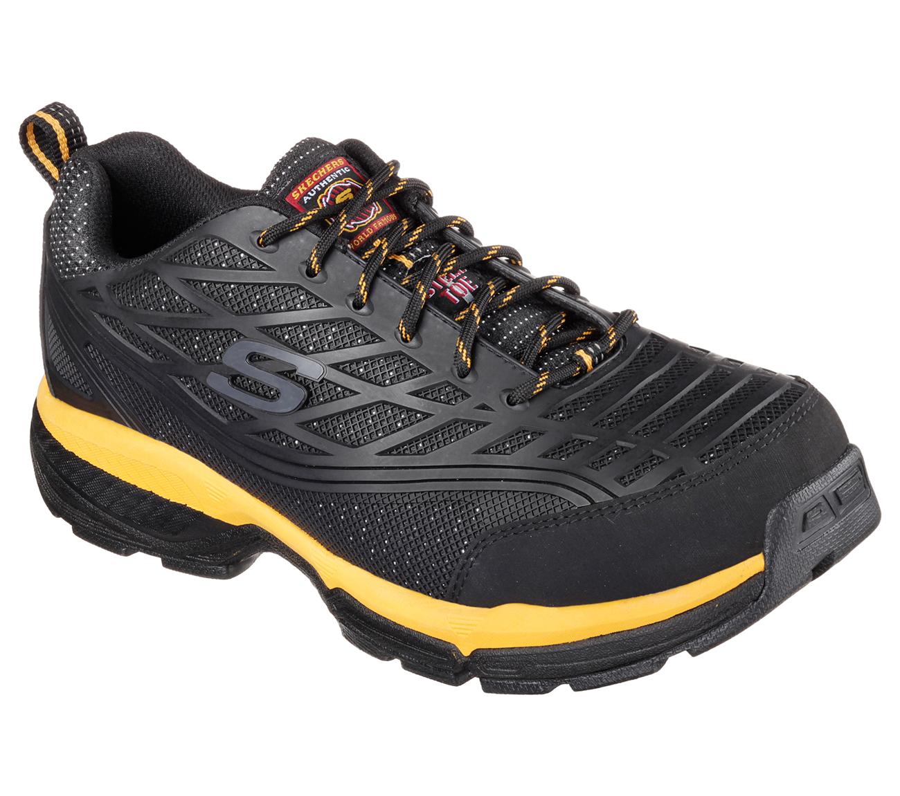 Buy Skechers Steel Toe Shoes U0026gt; OFF62% Discounted
