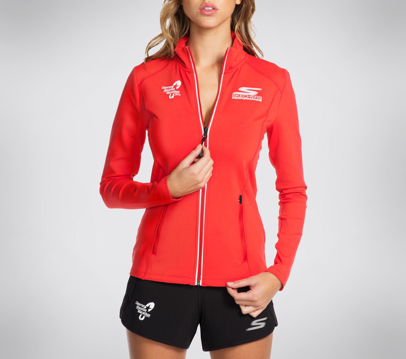 Buy SKECHERS Houston Marathon Long Sleeve Zip Jacket ...